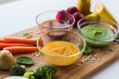 pure de verduras para ninos x
